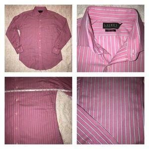 Ralph Lauren Non Iron Button Down Shirt